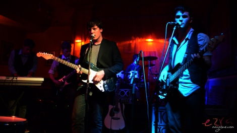 Copyright © 2013 - Ezra Magazine. Stock Exchange band members (left to right) - Ryan Morgan, Aaron Williams, Richard Sallis, Mitchell Skinner and Oscar Hose.