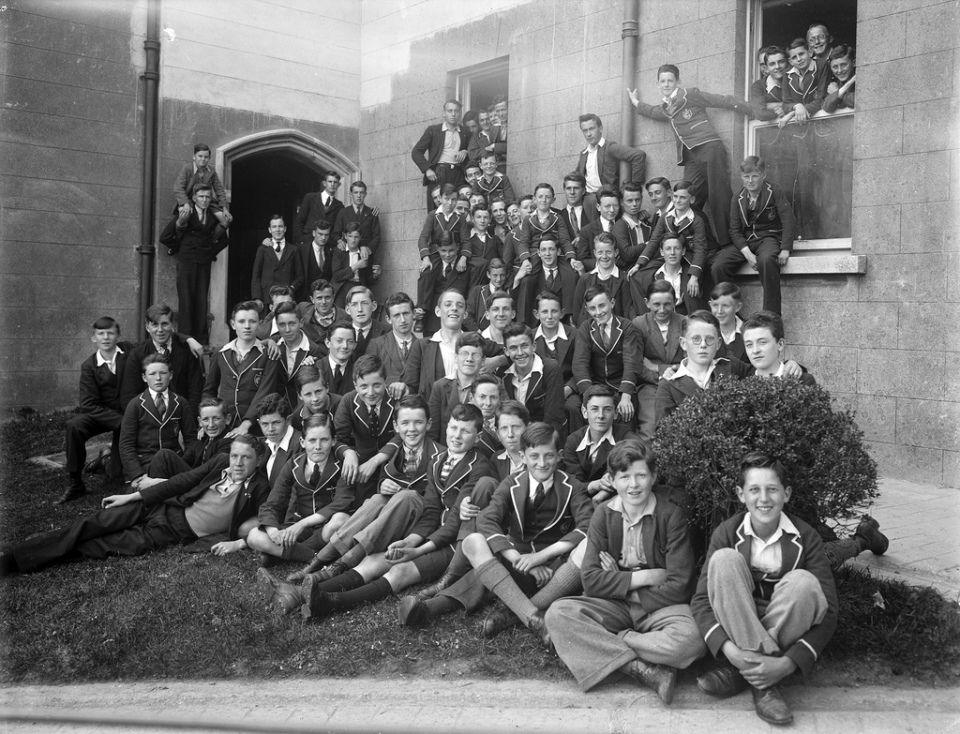 Date: May 1935 Location: Ireland, Who: Good Counsel College, Wexford (boys boarding school)