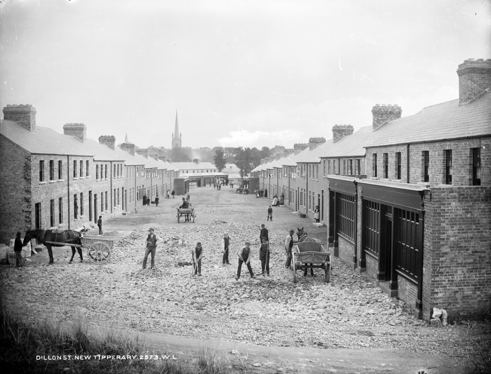 Date: Circa 1890 Location: Tipperary town, Ireland