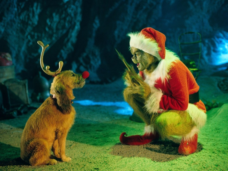 "Jim Carrey as ""The Grinch"""