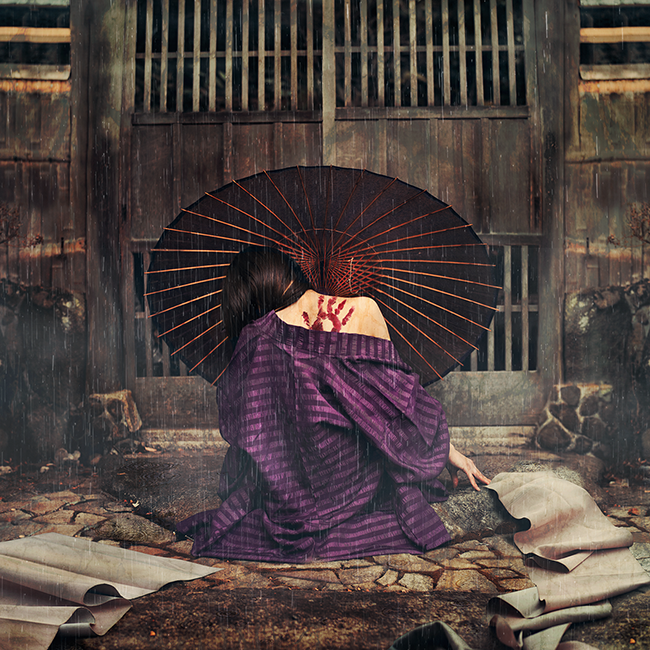 """Past Lifetimes"" - Copyright 2014 Reylia Slaby"